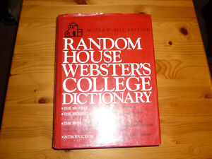 Random house Webster college dictionary