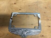 Motorcycle plate cover