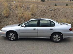 2002 Chevrolet Malibu Sedan