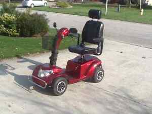 """4WHEEL MOBILITY SCOOTER 12"""" WHEELS"""