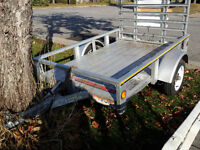 4x6 Galvinized steel 2012 Utility Trailer