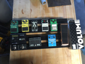Catalinbread, Boss, Ibanez, Dunlop, Line 6 pedals and more