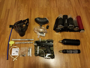 Complete Paintball Set