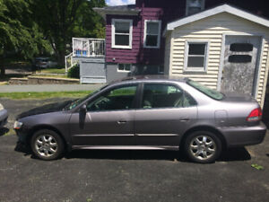 2001 Honda Accord for parts or repair - MVI July 2020