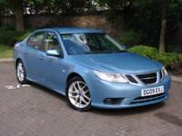 AA WARRANTY!!! 2009 SAAB 9-3 1.9 TTiD VECTOR SPORT 4dr, HALF LEATHER, 1 YEAR MOT