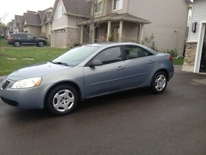 Excellant condition 2007 Pontiac G6 Sedan $2600 Dieppe