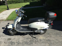SCOOTER 2014 SCOOTTERRE NOSTALGIA 50cc upgraded to 80cc $1900