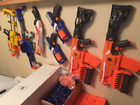 Nerf Guns, Ammo and Accesories