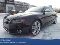 2009 AUDI S5 2DR COUPE, TOIT, CUIR, AUTO, MAGS, FOGS