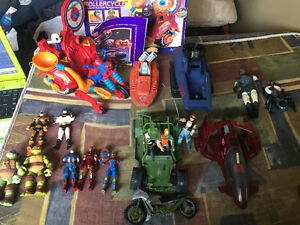 Lot of miscellaneous toys...