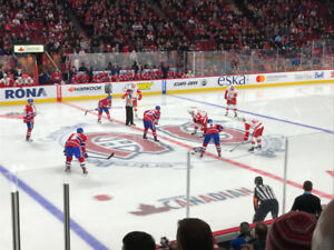 Montreal Canadiens half-season tickets 18/19 season