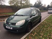 RENAULT SCENIC EXPRESSION 2004 1.6 50k 5 DOOR DRIVES LOVELY VERY CLEAN CAR