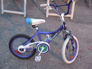 GIRLS BIKE WITH KICKSTAND