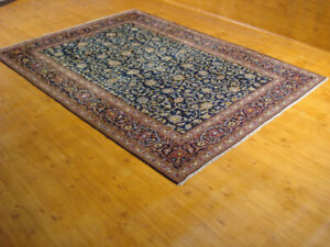 Persian Rug, Kashan, size 11 x 7.9 ft