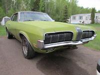 1970 Mercury Cougar for restoration SOLD pending pickup.