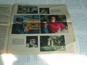 ELVIS PRESLEY - THE MONTREAL STAR MEMORIAL INSERT West Island Greater Montréal image 5
