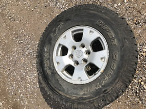 TOYO OPEN COUNTRY 275 75 R16 + TOYOTA TACOMA RIMS