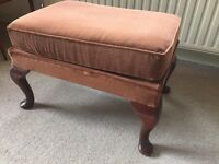 Gorgeous Parker knoll footstall lounge chair sofa armchair