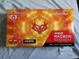 Sapphire AMD Radeon RX 6700 XT NITRO+ 12GB Graphics Card
