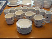 DISHES...Pfaltzgraff Stoneware for 8...plus matching items