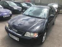 2003 Audi A3. SUPERB. MOT. TAX LOW MILES