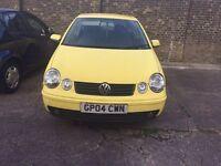 VW Polo 2004 Mot & Tax
