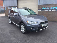 2011 MITSUBISHI OUTLANDER 2.2DI-D GX3 7 SEATER 4WD ONLY 64000 MILES WITH FULL