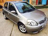 2005 TOYOTA YARIS 1.3 COLOUR COLLECTION 2 OWNERS VGC (EN05RZB)