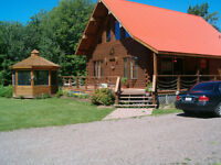 NEW PRICE-Log Home in Shediac-Walk to Parlee
