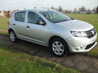 2013 Dacia Sandero 0.9TCe 90bhp ONLY £30.00 1 YEARS ROAD TAX