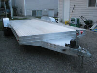 17 ft Aluminumn Featherlite Car Hauler