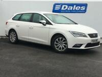 2014 Seat Leon 1.6 TDI Ecomotive SE 5dr [Technology Pack] 5 door Estate