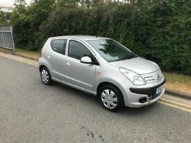 2010/10 Nissan Pixo 1.0 (67bhp) N-TEC 5dr h/b ONLY £20 Road Tax PA Ideal 1st Car