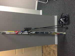 Barely used cross country set