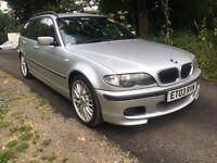 2003 BMW 330 sport GAS/LPG CONVERTED BLACK LEATHER
