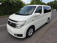 2002 Nissan Elgrand 3500 4WD X EDITION FRESH IMPORT 5dr