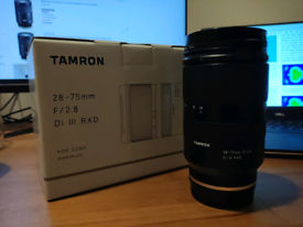 Tamron 28-75 f2.8 for Sony FE