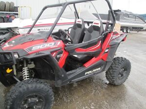 2015 Polaris RZR S 900 EPS Havasu Red Pearl