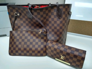 Louis Vuitton purse and wallet