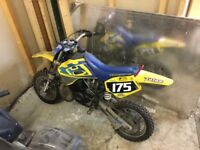 Husqvarna Kids motocross dirt bike 50cc for sale