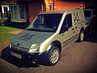 Ford transit connect van 2 folding seats in back
