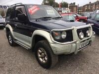 2002 MITSUBISHI SHOGUN SHOGUN 4 x 4 SHORT WHEEL BASE DIESEL HIGH SPEC