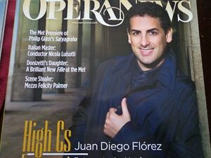 OPERA NEWS MONTHLY MAGAZINES 2008-2014 COMPLETE