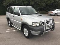 54 Nissan Terrano 2-7 4WD 7 Seater Turbo Diesel. YES V/RARE £1295 Cards & P/EXS