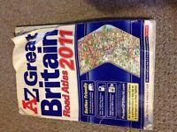 AZ Great British Road Map Atlas - 2011