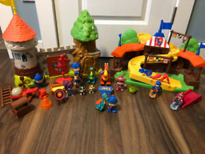 Mike the Knight Toy Lot