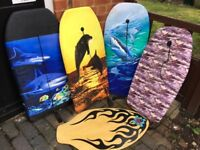 Body Boards and skim board