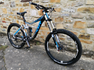 Giant Glory 0 DH full suspension mountain bike RRP £5,000