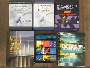 2nd & 3rd Year General and Environmental Engineering Textbooks
