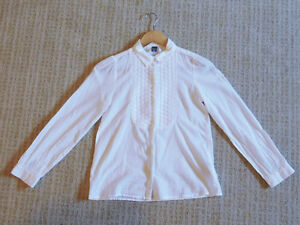 Zara Girls White Shirt, Size 11-12